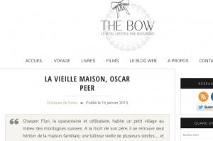 """""""La Vieille maison"""" sur le blog No Tuxedo."""