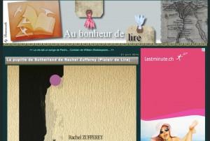 Blog Au bonheur de lire.