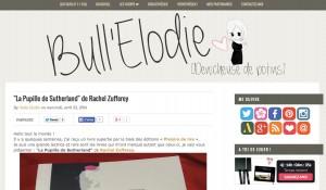 Le blog Bull'Elodie.