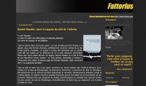 """La critique de """"Qui ne sait se taire nuit à son pays"""" sur le blog Fattorius."""