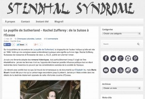 Blog Stendhal Syndrome.