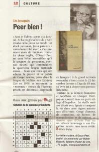 """""""La Vieille maison"""" dans Vigousse du 17 janvier 2014."""