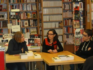 Abigail Seran, Rachel Zufferey et Rachel Maeder.