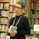 """Rachel Maeder présente son deuxième polar """"Qui ne sait se taire nuit à son pays""""."""