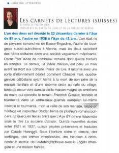 """""""La Vieille maison"""" dans L'information immobilière de printemps 2014."""