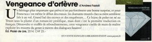 """Andrea Fazioli dans """"Marie Claire Suisse"""", octobre 2014."""