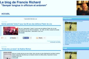 Le blog de Francis Richard. [francisrichard.net]