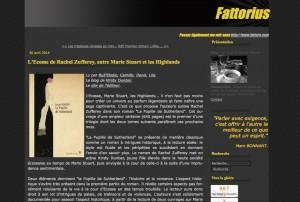 """""""La Pupille de Sutherland"""" sur le blog Fattorius."""