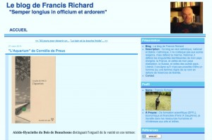 Le blog de Francis Richard.