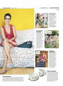 Portait de Rachel Maeder dans Migros Magazine (2/2).