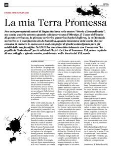La nouvelle de Rachel Zufferey dans le Corriere del Ticini.