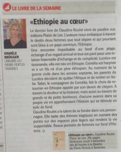 """""""Ethiopie au coeur"""" dans Le Mag du 29 novembre 2014."""