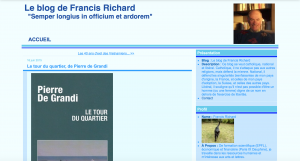 Screen Shot Blog Francis Richard