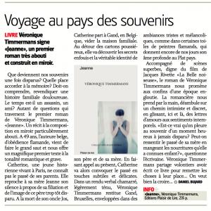 Article Jeanne - La Côte